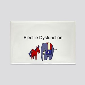 political Rectangle Magnet