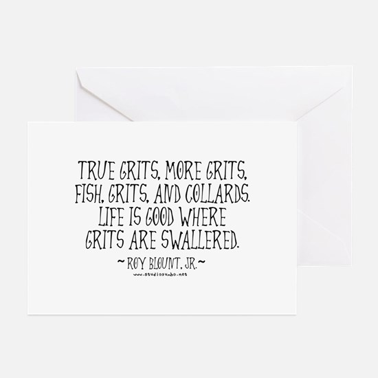 Grits Swallered Greeting Cards (Pk of 10)