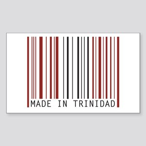 made in trinidad Rectangle Sticker