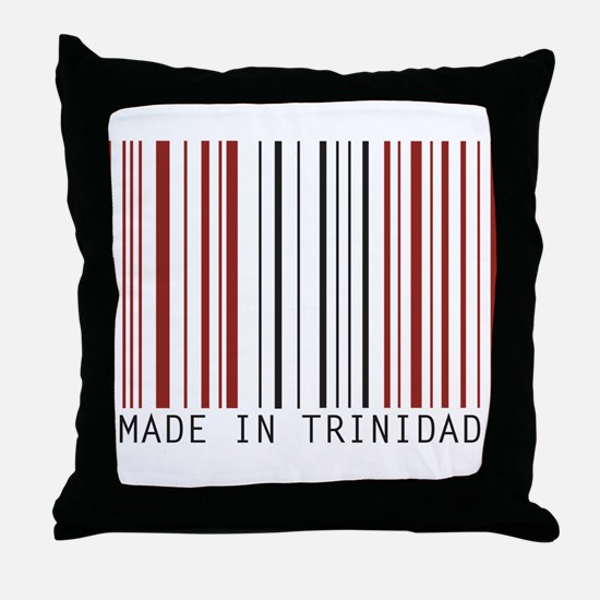 made in trinidad Throw Pillow