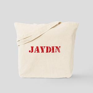 Jaydin Rustic Stencil Design Tote Bag