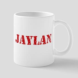 Jaylan Rustic Stencil Design Mugs