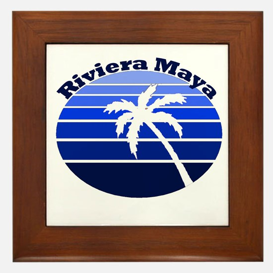 Riviera Maya, Mexico Framed Tile