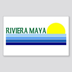 Riviera Maya, Mexico Rectangle Sticker