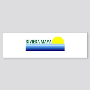Riviera Maya, Mexico Bumper Sticker