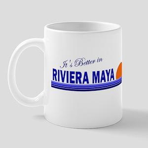 Its Better in Riviera Maya, M Mug