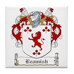 Beamish Family Crest Tile Coaster