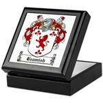 Beamish Family Crest Keepsake Box