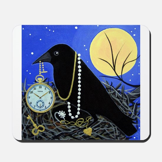 CROW Night Thief Mousepad