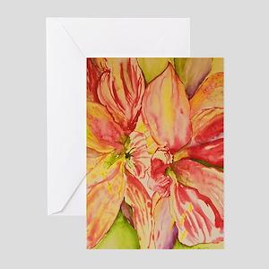 Succulent Amaryllis Greeting Cards (Pk of 10)