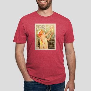 Absinthe Robette Mens Tri-blend T-Shirt