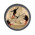Pas De Substitution Wall Clock