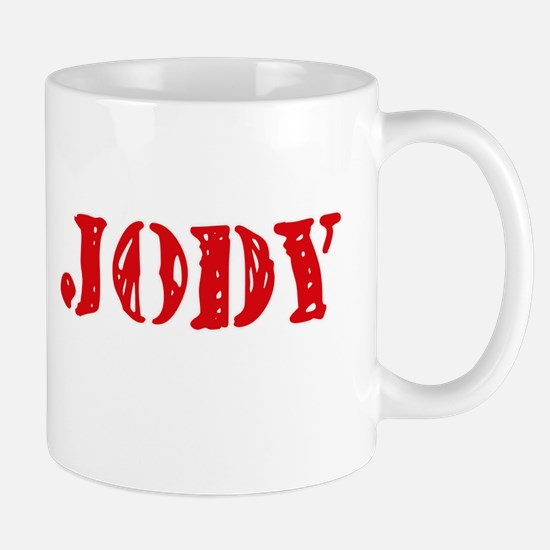 Jody Rustic Stencil Design Mugs