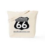 HOTROD 66 (BLK) Tote Bag