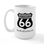 HOTROD 66 (BLK) Large Mug