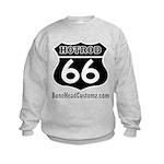 HOTROD 66 (BLK) Kids Sweatshirt