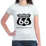 HOTROD 66 (BLK) Jr. Ringer T-Shirt
