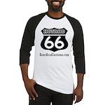 HOTROD 66 (BLK) Baseball Jersey