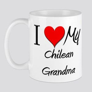 I Heart My Chilean Grandma Mug