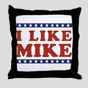 I Like Mike Throw Pillow