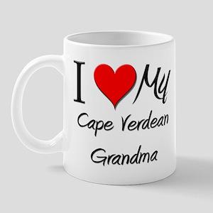 I Heart My Cape Verdean Grandma Mug