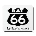 RAT 66 BLK Mousepad