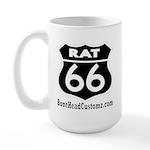 RAT 66 BLK Large Mug