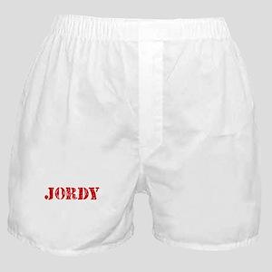 Jordy Rustic Stencil Design Boxer Shorts
