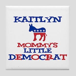 Kaitlyn - Mommy's Little Demo Tile Coaster