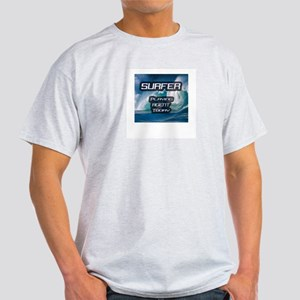 """Surfer Playing Agent Today"" Light T-Shirt"