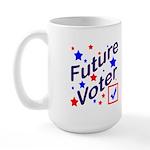 Future Voter Kids Large Mug