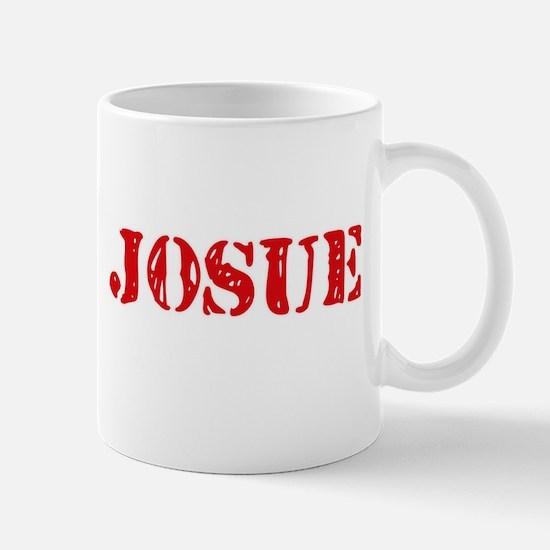 Josue Rustic Stencil Design Mugs
