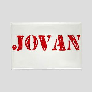 Jovan Rustic Stencil Design Magnets