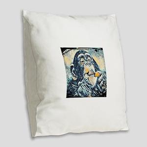 Animal 17 Merchandise Burlap Throw Pillow