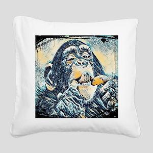 Animal 17 Merchandise Square Canvas Pillow