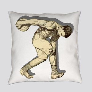 Discus Thrower Everyday Pillow