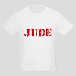Jude Rustic Stencil Design T-Shirt