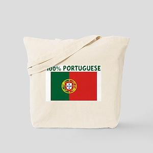 100 PERCENT PORTUGUESE Tote Bag