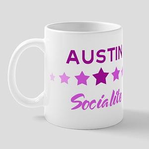 AUSTIN socialite Mug