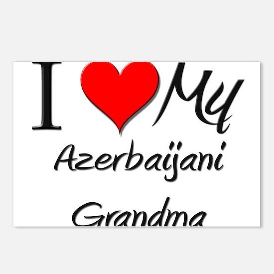 I Heart My Azerbaijani Grandma Postcards (Package