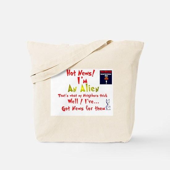 'Neighborhood Gab:-) Tote Bag