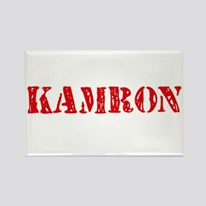 Kamron Rustic Stencil Design Magnets