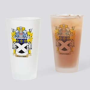 Fitzpatrick Coat of Arms - Family C Drinking Glass