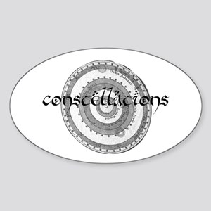 constellations Oval Sticker