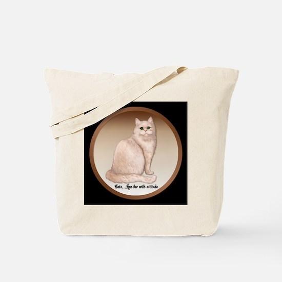 Cat Attitude Tote Bag