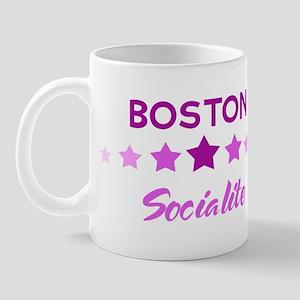 BOSTON socialite Mug