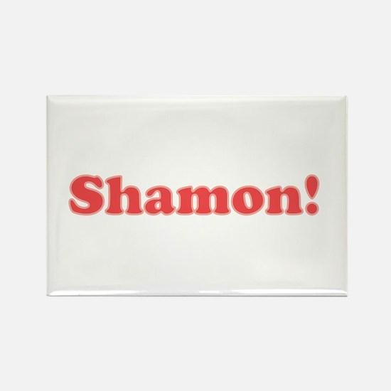 Shamon button Magnets