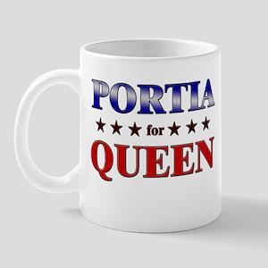 PORTIA for queen Mug