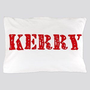 Kerry Rustic Stencil Design Pillow Case