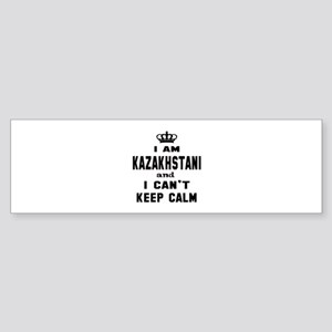 I am Kazakhstani and I can't keep Sticker (Bumper)